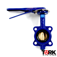 NIBCO-Cast-Iron-Butterfly-Valve-Wafer-ductile-iron-Bronze-Trim