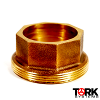 Bronze Thread Piece Sil Braze Connection 400 lb
