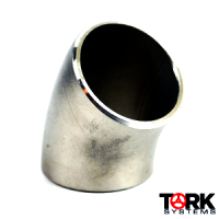 buttweld stainless steel 45 degree elbow 316/316L
